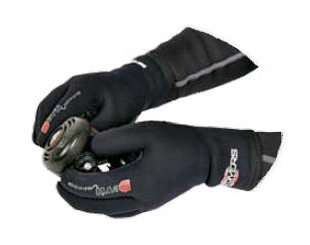 Guanti 3 mm BEST DIVERS Neoprene Devil neri Tg.5/XL