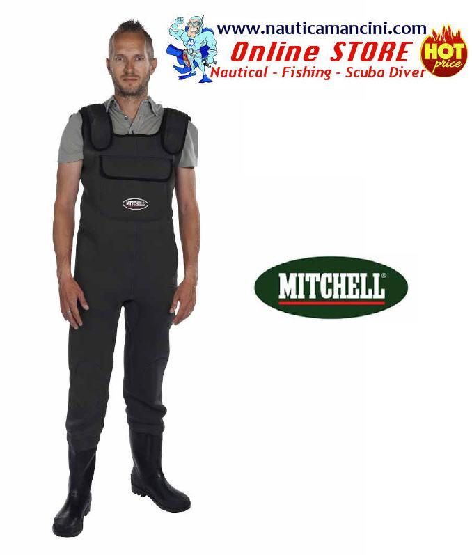 Scafandro Mitchell in Neoprene 3,5mm n° 44/45