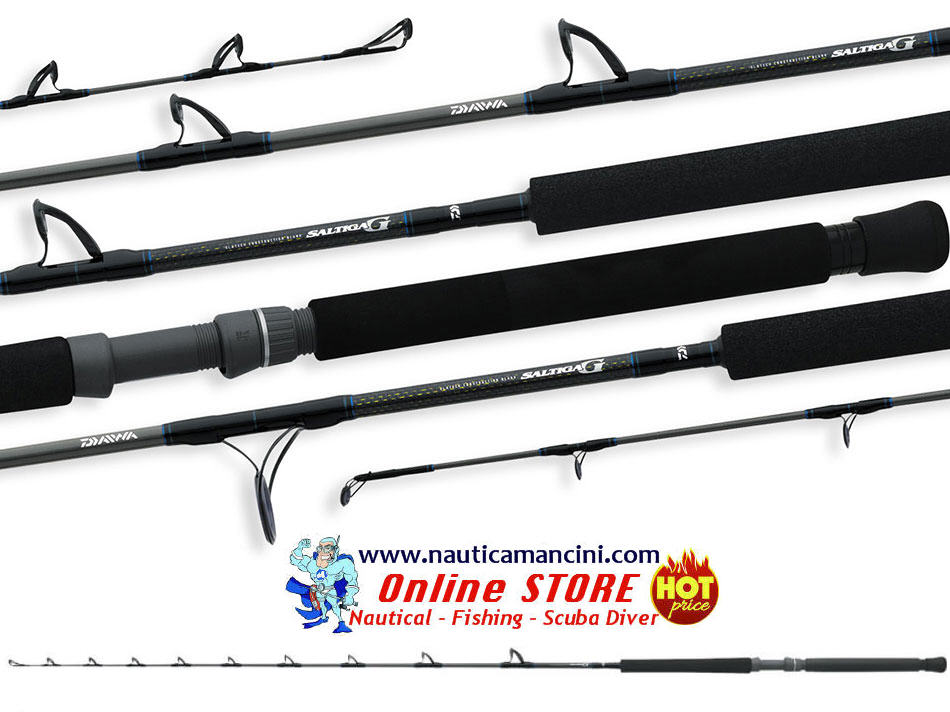 Canna da Traina DAIWA SALTIGA G BT 70 2.10mt 15/30 LB