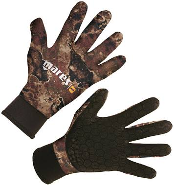 Guanti 3 mm Mimetici MARES Camo Brown Tg.4/L