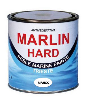 Vernice Antivegetativa Matrice Dura MARLIN HARD - Bianco 0,750 LT