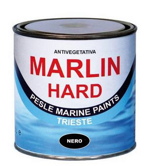 Vernice Antivegetativa Matrice Dura MARLIN HARD - Nero 0,750 LT