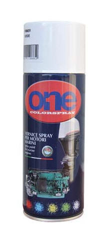 Vernice Spray ONE JOHNSON Grigio Metallizzato