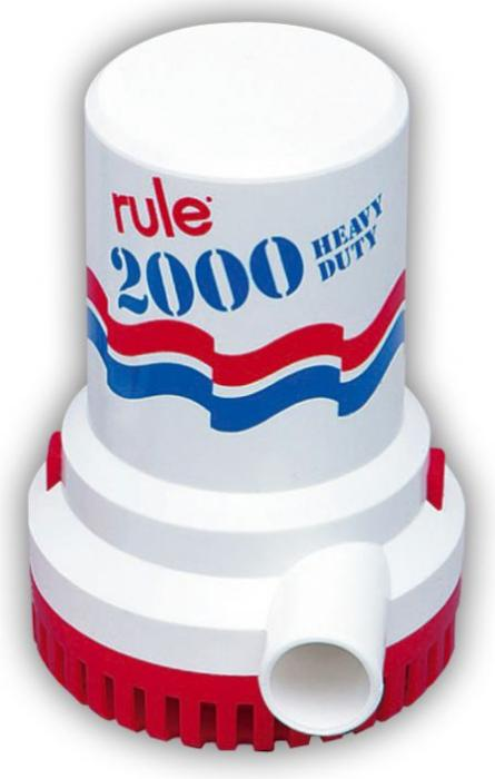 Pompa Immersione RULE 2000 (135lt/min)