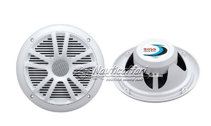 Altoparlanti/Casse Stagne ABS 2 Vie 90+90W (180W) BOSS MARINE MR-6W
